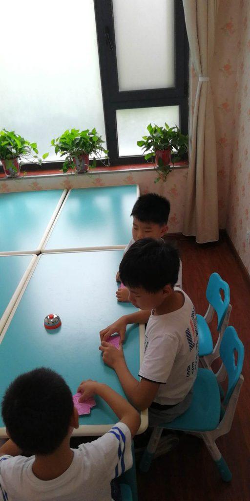 河大附小分部喜迎第一批孩子-余庆堂